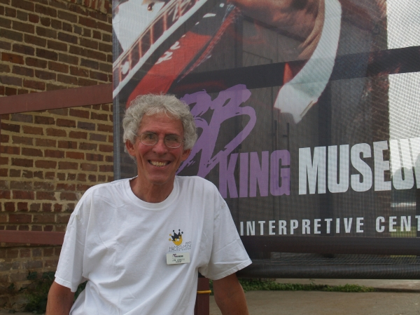 Our Guide Jim Abbott / B.B. King Museum